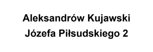 Aleksandrów Kujawski Piłsudskiego 2