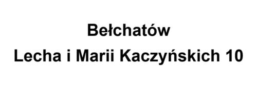 Bełchatów Lecha i Marii Kaczyńskich 10