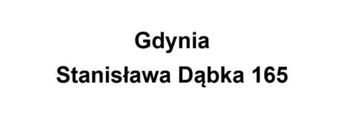 Gdynia Stanisława Dąbka 165