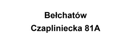 Bełchatów Czapliniecka 81A