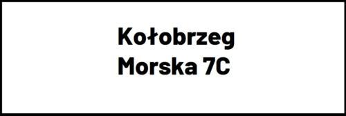 Kołobrzeg Morska 7c