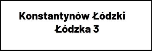 Konstantynów Łódzki Łódzka 3