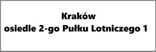 Kraków osiedle 2-go Pułku Lotniczego 1